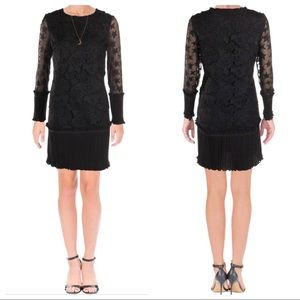SCOTCH & SODA LACE BELL SLEEVES COCKTAIL DRESS 30